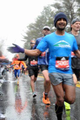 boston marathon race report