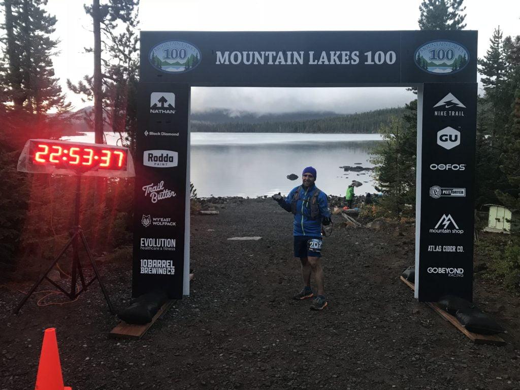 mountain lakes 100 race report