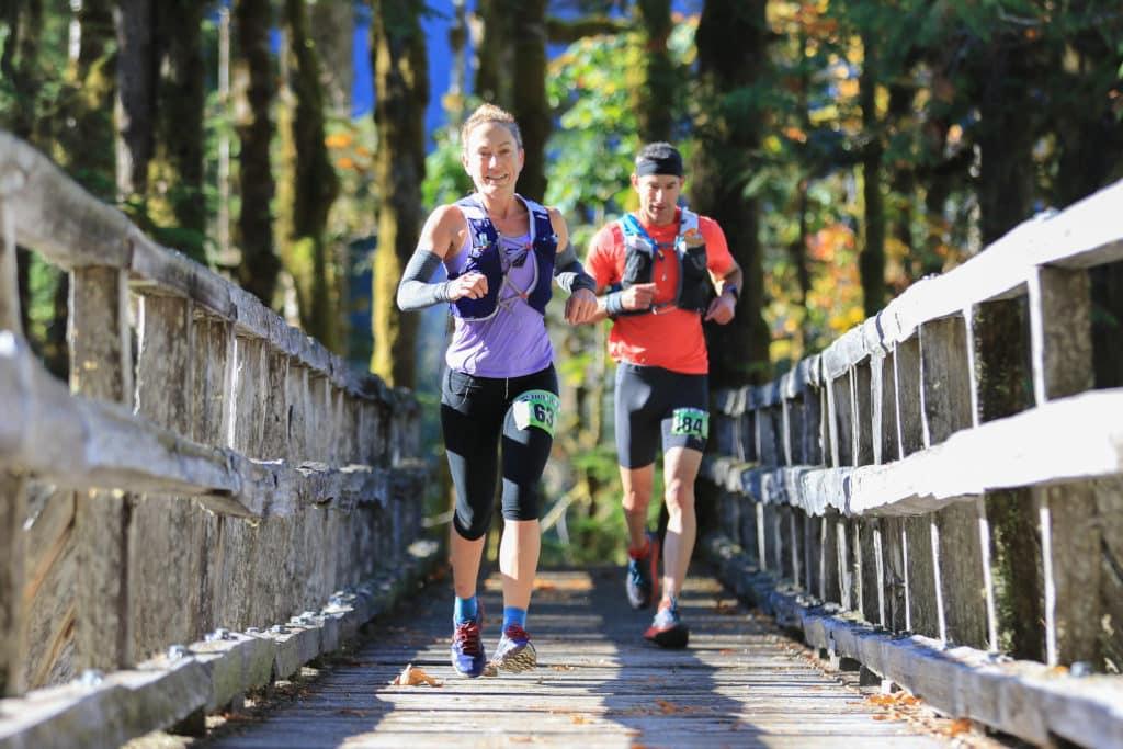 baker lake 50k race report