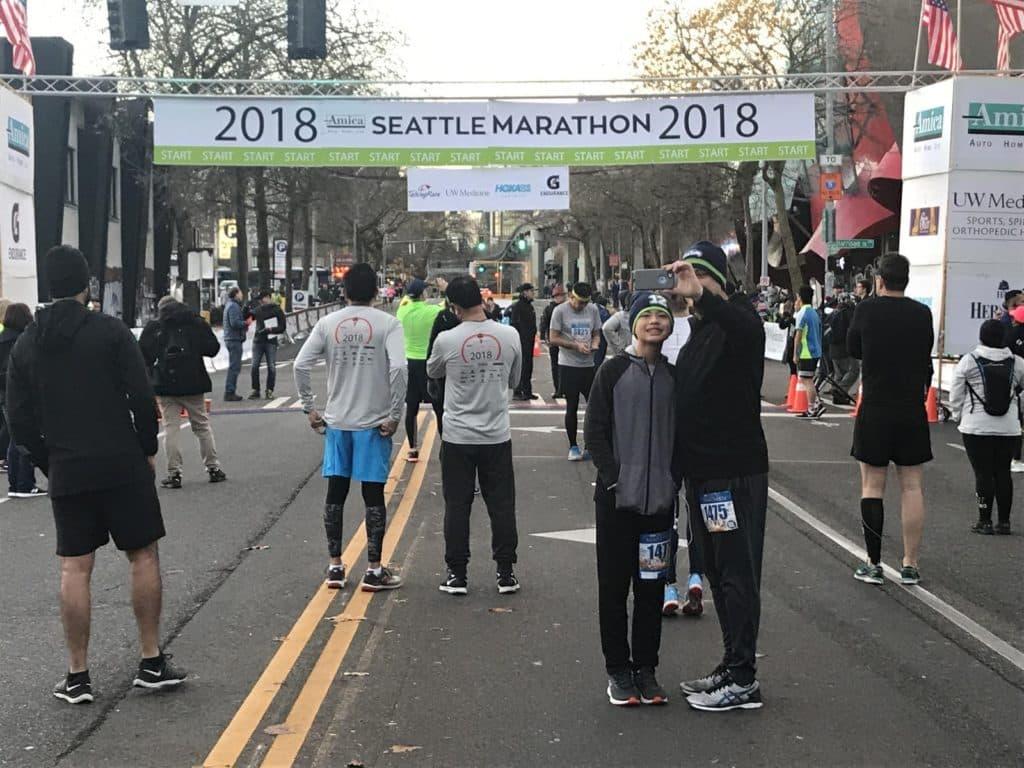 seattle half marathon race report