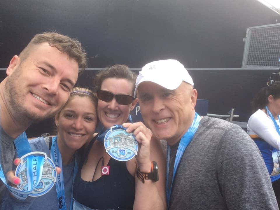 san diego half marathon race report