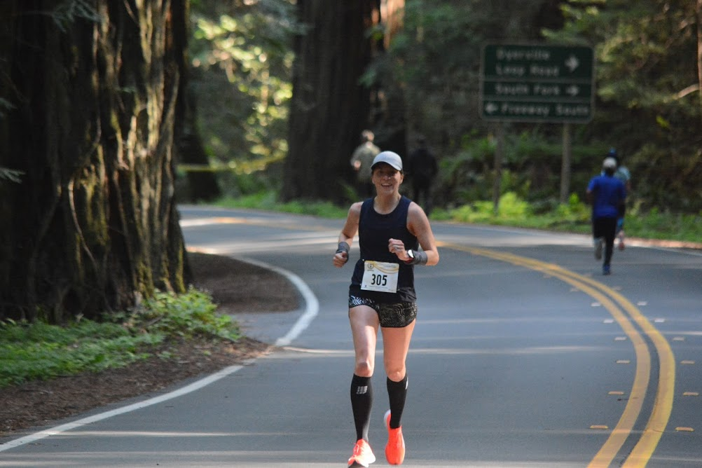 avenue of the giants race report