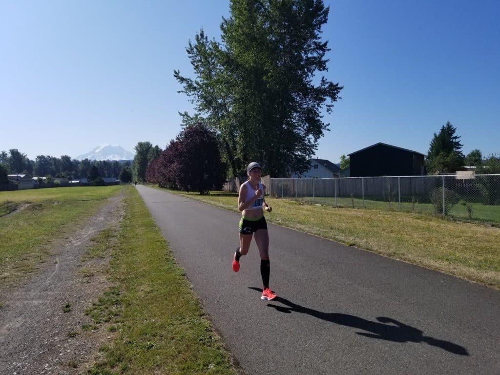 B&O half marathon race repot