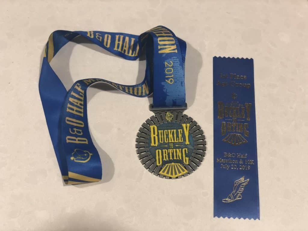 B&O half marathon race report