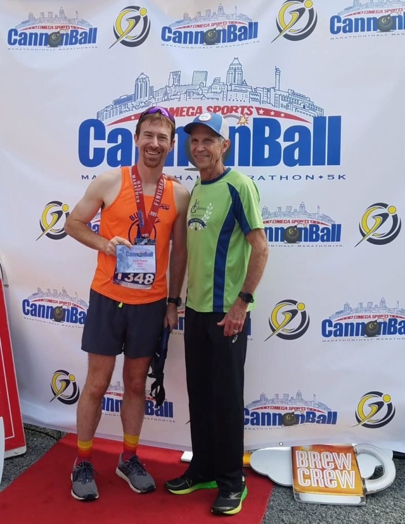 cannonball half marathon race report