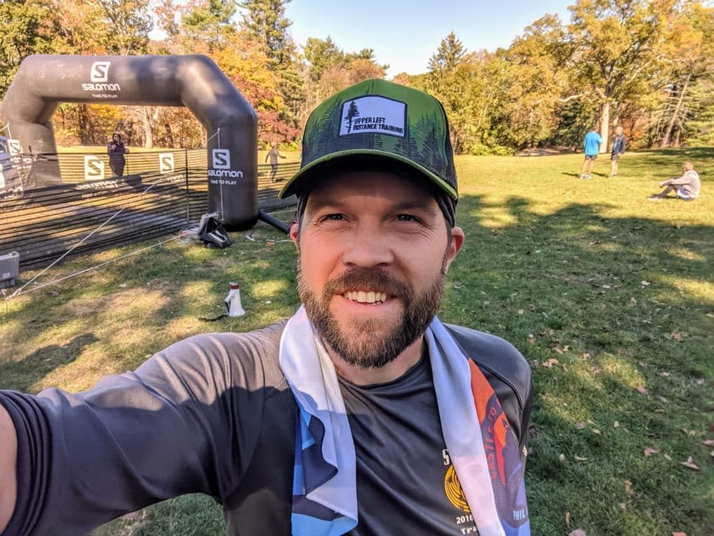 castle to river run trail half marathon race report