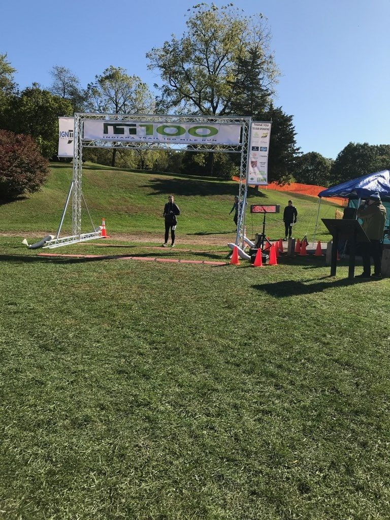 indiana trail 100 mile race report