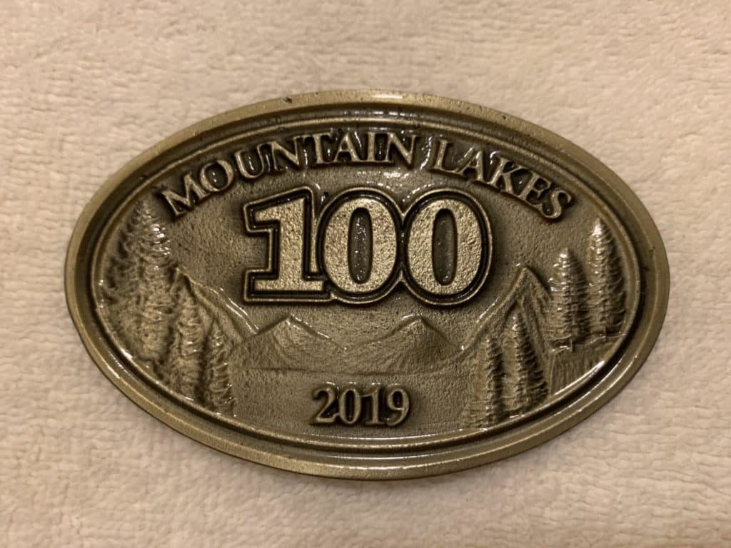mountain lakes 100 mile race report