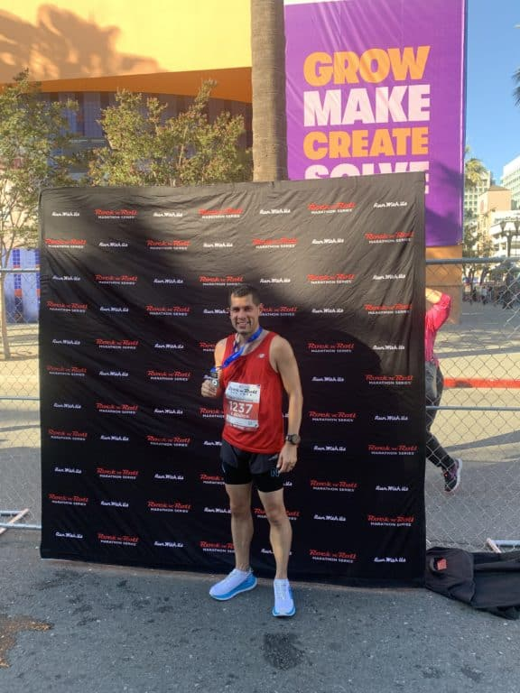 san jose rock n roll half marathon race report