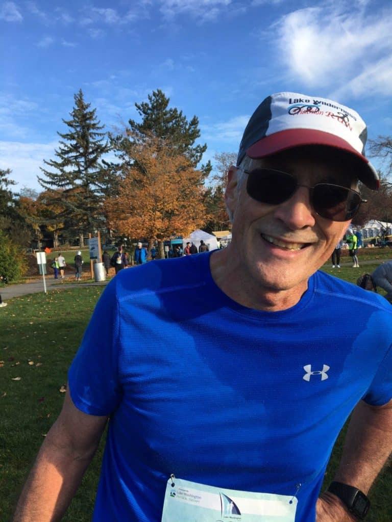 lake washington half marathon race report