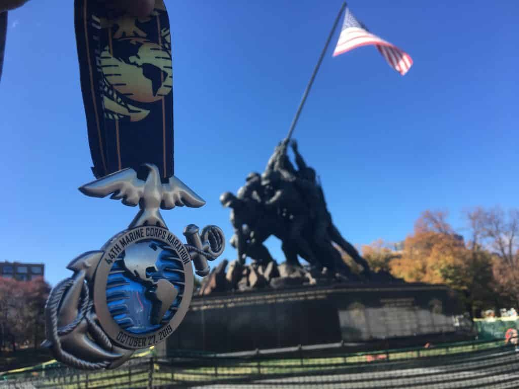 marine corps marathon race report