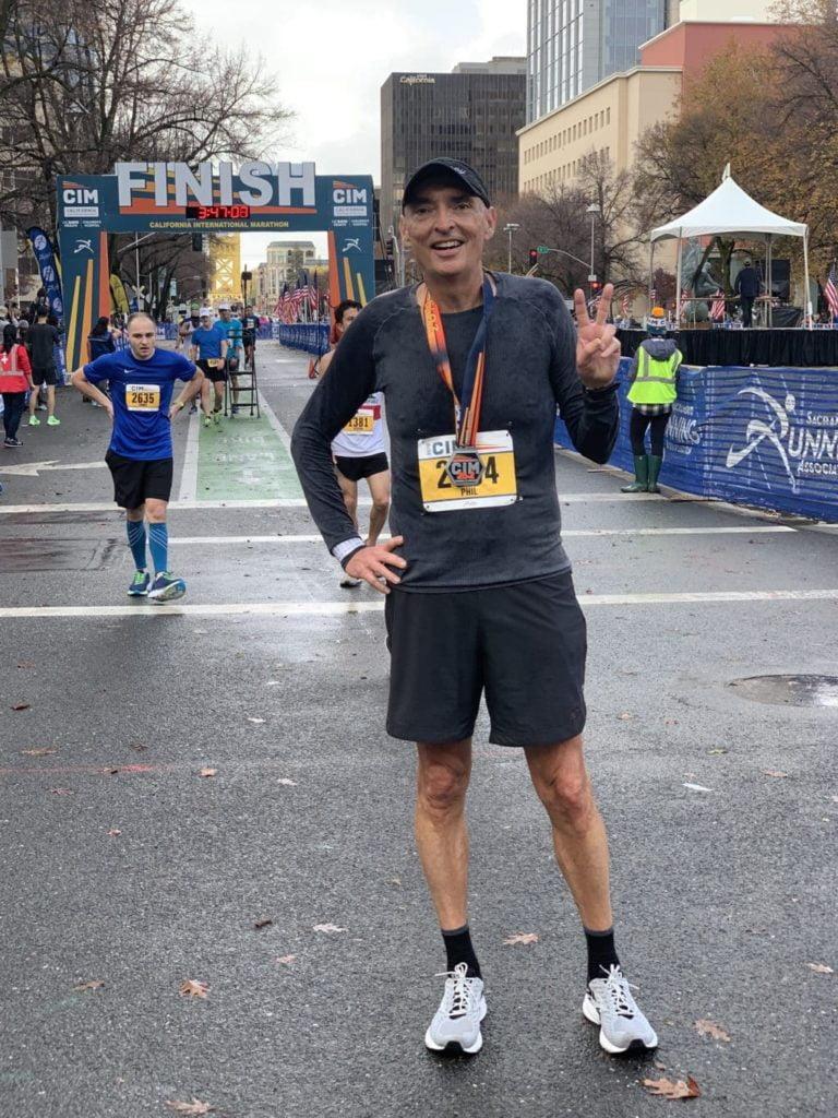 california international marathon race report