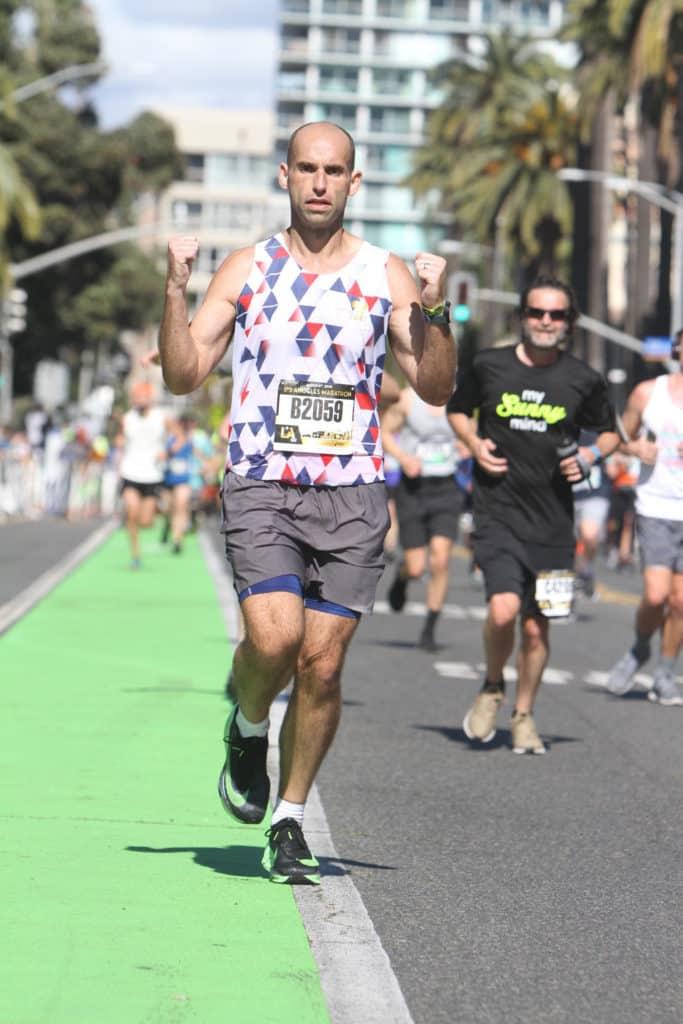 la marathon race report