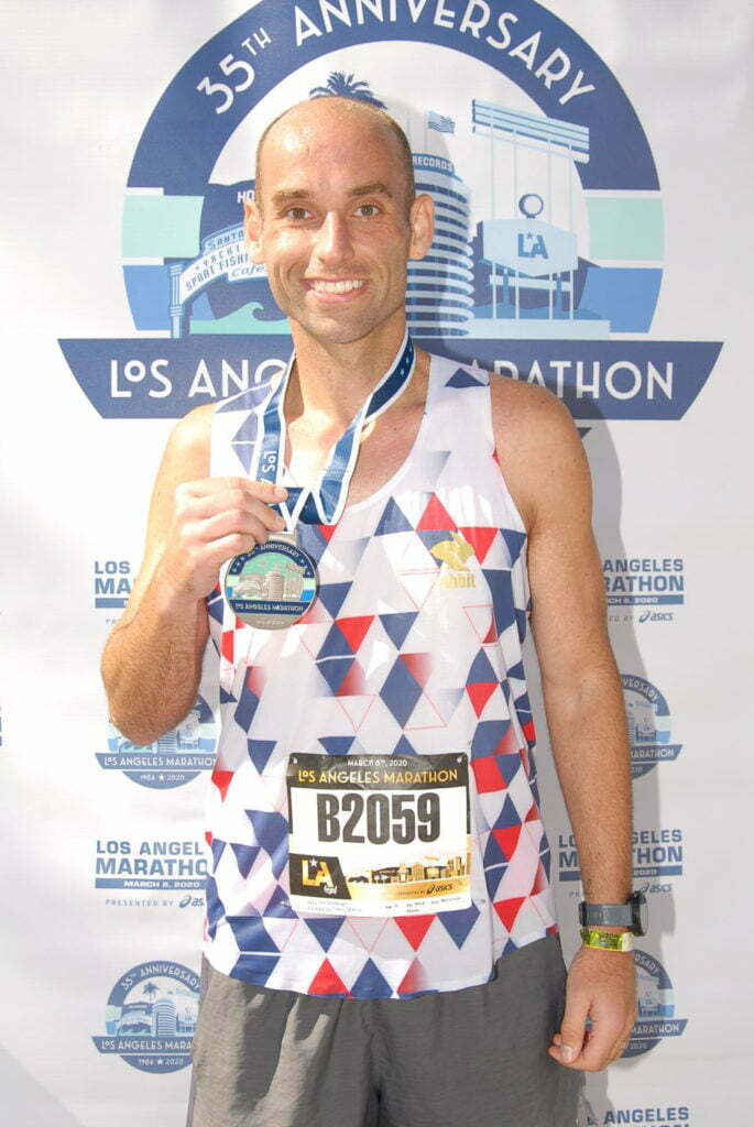 la marathon race report