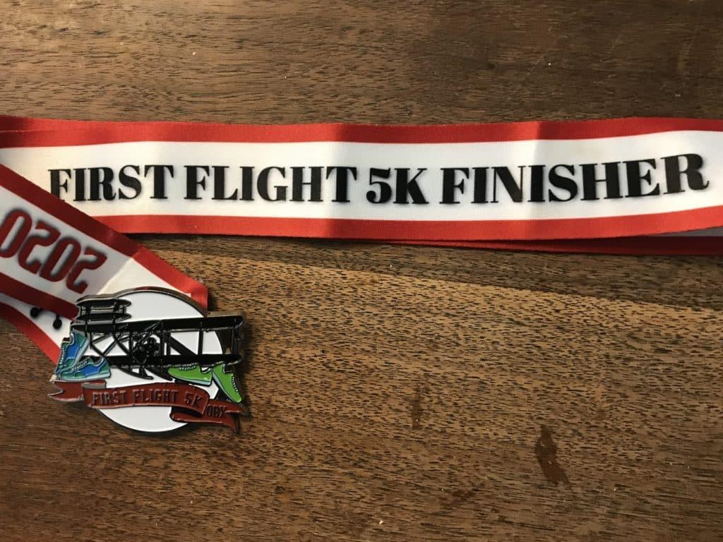 first flight 5k race report