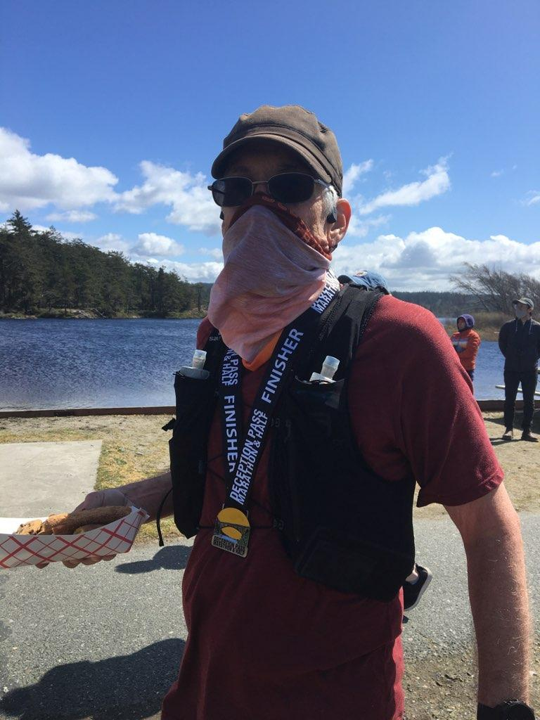deception pass trail marathon race report