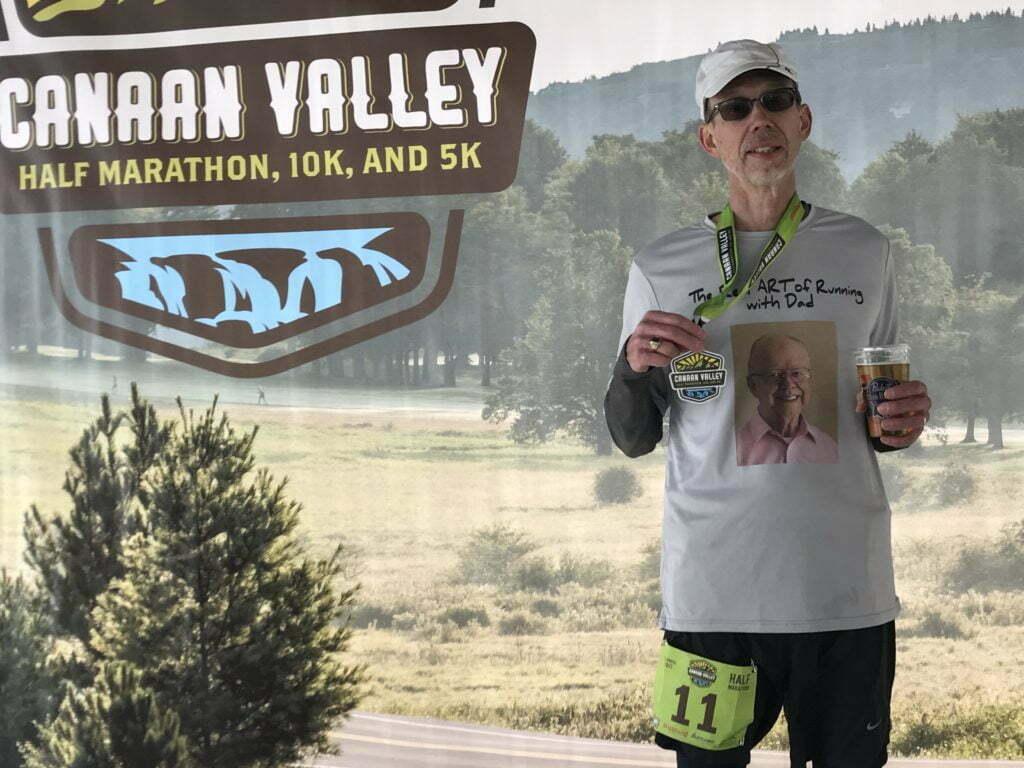 canaan valley half race report