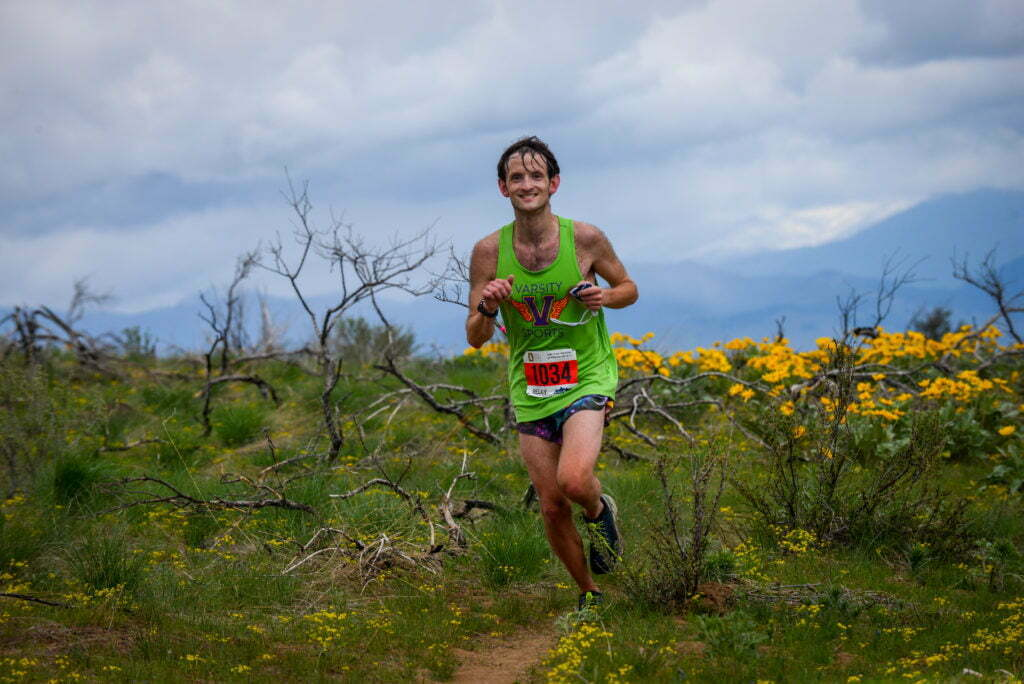 sunflower trail marathon race report