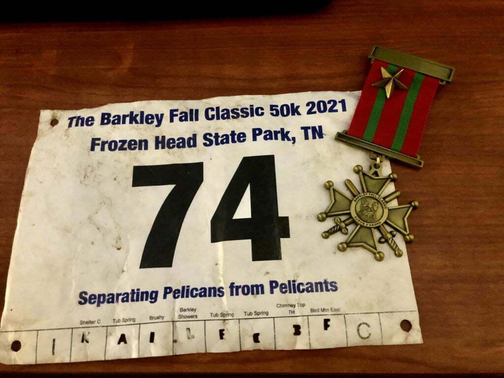 barkley fall classic 50k